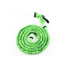 Car Washer Pipe Expandable with Different Functions Green Color - 25 FT-SehgalMotors.Pk