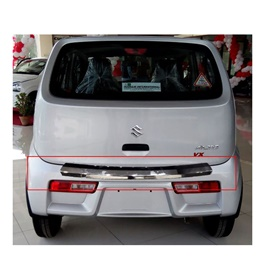 Suzuki Alto Back Bumper Protector Long Version Chrome Trim  - Model 2018-2020 MA001598 -SehgalMotors.Pk