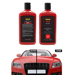 Maximus Elite Class Car Color Wax - Hyper Red | Car Paint Scratch Paint Care Auto Polishing Repair Wax | Color Magic Car Automobiles Paint Polishing Care | Water Repellent | Shining Gloss Look Polish | Color Restorer | Scratch Filling Polish-SehgalMotors.Pk
