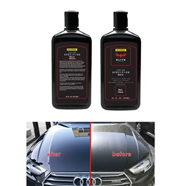 Maximus Elite Class Car Color Wax - Black Cherry | Car Paint Scratch Paint Care Auto Polishing Repair Wax | Color Magic Car Automobiles Paint Polishing Care | Water Repellent | Shining Gloss Look Polish | Color Restorer | Scratch Filling Polish-SehgalMotors.Pk