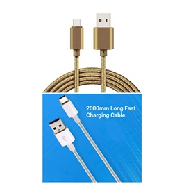 High Speed Android Quick Charge USB Cable 3.6A with 2000mm -SehgalMotors.Pk