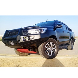 Toyota Hilux Revo M Power Ironman Front Bumper Version 1 - Model 2016-2021