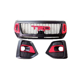 Toyota Hilux Rocco Grille V4 TRD Version - Model 2016-2021-SehgalMotors.Pk