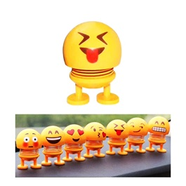 Bouncing Car Dashboard Smileys Emoji Emoticon Toy - Tounge Out-SehgalMotors.Pk
