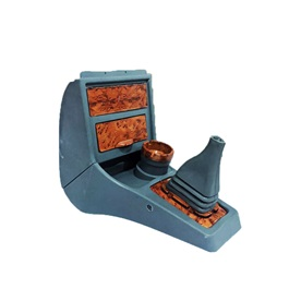 Suzuki Mehran Euro II Console Box Wooden Style With Cup Holder-SehgalMotors.Pk