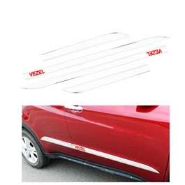 Honda Vezel Full Chrome Door Moulding - Model 2013-2019-SehgalMotors.Pk