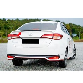 Toyota Yaris New Style Trunk Spoiler Unpainted - Model 2020-2021-SehgalMotors.Pk
