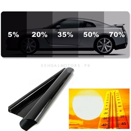 Maximus Heat Rejection Tint Film For Back Screen Universal-SehgalMotors.Pk