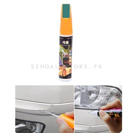 Car Scratch Filling Paint Color Pen Dark Green Pearl | Pro Mending Car Remover Scratch Repair Paint Pen Clear Painting Pen | Waterproof Car Auto Coat Scratch Clear Repair Paint Pen Touch Up Remover Applicator Auto Care Tools-SehgalMotors.Pk
