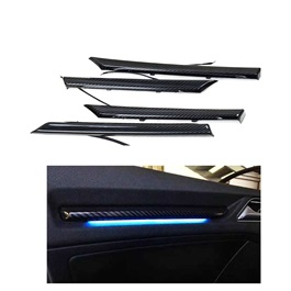 Honda Civic Interior Carbon Fiber Door Illumination Kit RGB 11 Colors - Model 2016-2020