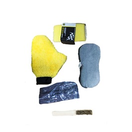 Car Wash Bundle Microfiber Kit - 5 Pcs | Detailing Products-SehgalMotors.Pk