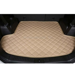 Honda Vezel 7D Trunk Mat Beige - Model 2013-2018 | Trunk Boot Liner | Cargo Mat Floor Tray | Trunk Protection Mat | Trunk Tray Cover Pad-SehgalMotors.Pk