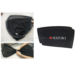 Suzuki Alto Foldable & Flexible Sunshade / Sun Shades With Logo - Model 2014-2018-SehgalMotors.Pk