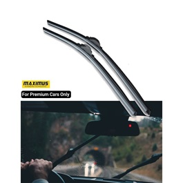 Maximus Premium 24 Inches Silicone Wiper Blades For Special Cars  - Each-SehgalMotors.Pk