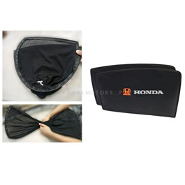 Honda Fit Foldable & Flexible Sunshade / Sun Shades With Logo - Model 2013-2018-SehgalMotors.Pk