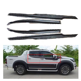 Isuzu D-Max / DMax / D Max Side Weather Strips Flares Thailand - Model 2018-2020-SehgalMotors.Pk
