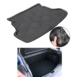 KIA Picanto 5D Trunk Mat Tray Black - Model 2019-2021 | Trunk Boot Liner | Cargo Mat Floor Tray | Trunk Protection Mat | Trunk Tray Cover Pad-SehgalMotors.Pk