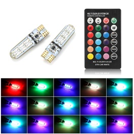 RGB Multi Color SMD Parking Light Flash Strobe | Led Light Bulb For Parking | SMD Car Exterior Parking Lamps Parking Lights Car Accessories-SehgalMotors.Pk