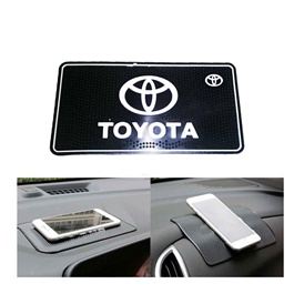 Toyota Non Slip / Anti Skid Mat For Dashboard | Anti Skid Material | Silicon Type Dashboard Mat | Car Anti Slip Mat-SehgalMotors.Pk