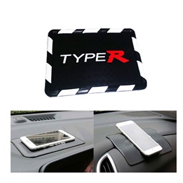 Type R New Style Dashboard Non Slip / Anti-Skid Mat | Anti Skid Material | Silicon Type Dashboard Mat | Car Anti Slip Mat-SehgalMotors.Pk