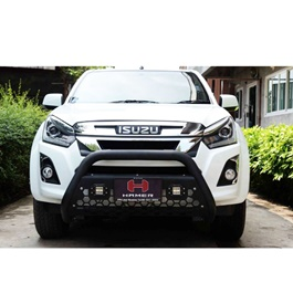 Isuzu D-Max / DMax / D Max Hamer Front Bull Bar Version 3 - Model 2018-2020-SehgalMotors.Pk