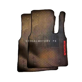 KIA Sportage PVC Floor Mat Black - Model 2019-2020-SehgalMotors.Pk