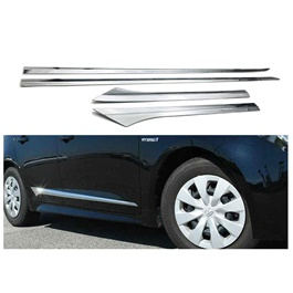 Honda Civic New Style Complete Door Chrome Moulding - Model 2016-2020-SehgalMotors.Pk