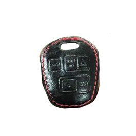 Toyota Corolla Leather Protection Key Cover 3 Button - Model 2006-2008-SehgalMotors.Pk