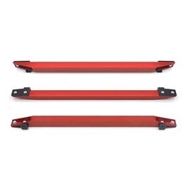 Honda Civic EK Lower Tie Bar Beaks Without Clamps 1 Pc - Red 1999-2000-SehgalMotors.Pk