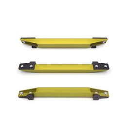 Honda Civic FD Reborn and Rebirth Lower Tie Bar Beaks Without Clamps 1 Pc - Gold 2006-2015-SehgalMotors.Pk