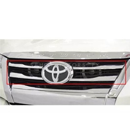 Toyota Fortuner Grille Chrome Trim 8 Pcs - Model 2016-2020-SehgalMotors.Pk