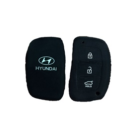 Hyundai Tucson PVC / Silicone Protection Key Cover 3 Button - Model 2020-2021-SehgalMotors.Pk