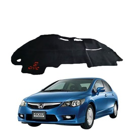 Honda Civic Reborn Dashboard Carpet For Protection and Heat Resistance - Model 2006-2012-SehgalMotors.Pk