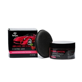 Tonyin Advance Ceramic Crystal Coating Wax - 200g  | Paint Care Waterproof Coating Soft Wax | Car Crystal Hard Wax | Anti Fade Ultraviolet Proof Polishing | Polish For Car Body | Easy Operation For Caring And Maintenance Clean | Car Polishing Body Solid Waterproof Wax | Car Polish | Car Care Product | Coating Car Wax | Coating Paste-SehgalMotors.Pk