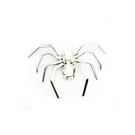 Spider Full Chrome Emblem | Decal | Monogram | Logo-SehgalMotors.Pk