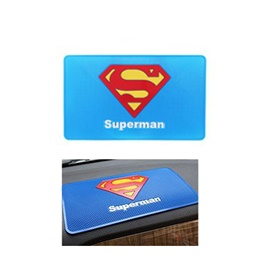 Super Man Dashboard Non Slip / Anti-Skid Mat | Anti Skid Material | Silicon Type Dashboard Mat | Car Anti Slip Mat-SehgalMotors.Pk