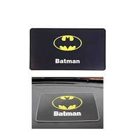 Batman Dashboard Non Slip / Anti-Skid Mat | Anti Skid Material | Silicon Type Dashboard Mat | Car Anti Slip Mat-SehgalMotors.Pk