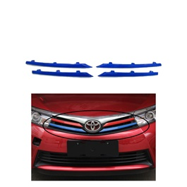 Toyota Corolla Front Grille Trims Blue - Model 2017-2020-SehgalMotors.Pk