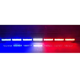 Police Flasher Light 1.3 Meter Blue And Red-SehgalMotors.Pk