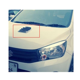 Universal Air Flow for Hood | Automotive Universal Body Hood Decorative Air Vent | Car Air Inlet Cover-SehgalMotors.Pk