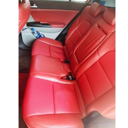 Kia Sportage Japanese Leather Type Rexine Seat Covers Cherry Red - Model 2019 - 2020