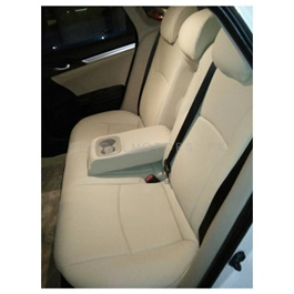 Hyundai Tucson Japanese Leather Type Rexine Seat Covers Beige  - Model 2015 - 2020-SehgalMotors.Pk