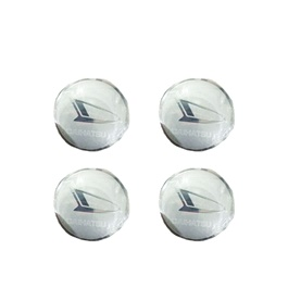 Daihatsu Wheel Cap Logo Chrome - 4 Pieces | Wheel Center Cap | Wheel Logo | Wheel Center Hub Caps | Wheel Dust Proof Covers Badge logo-SehgalMotors.Pk