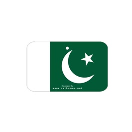 Pakistan Flag Car Branded Perfume Card Hanging Carfumes-SehgalMotors.Pk