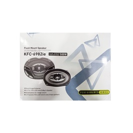 "Kenwood Flush Mount Speakers KFC-6982ie 500 W 6"" x 9""-SehgalMotors.Pk"