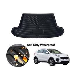 KIA Sportage 5D Trunk Mat Tray Black - Model 2019-2021 | Trunk Boot Liner | Cargo Mat Floor Tray | Trunk Protection Mat | Trunk Tray Cover Pad-SehgalMotors.Pk