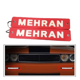 Mehran Flexible LED DRL Red - Pair | Daytime Running Lights | Car Styling Led Day Light | DRL Lamp-SehgalMotors.Pk