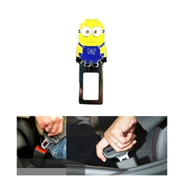 Minions Style Car Seat Belt Clips - Pair-SehgalMotors.Pk