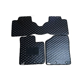 Suzuki Alto 7D Eco Floor Mat Black Stitched Multi - Model 2019-2021 | Car Interior Mats For Floor | Car Mats | Vehicle Mats | Foot Mat For Car | Custom Car Floor Mats-SehgalMotors.Pk