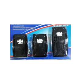 JP Junction Produce Universal Pedal Covers For Manual Transmission -SehgalMotors.Pk